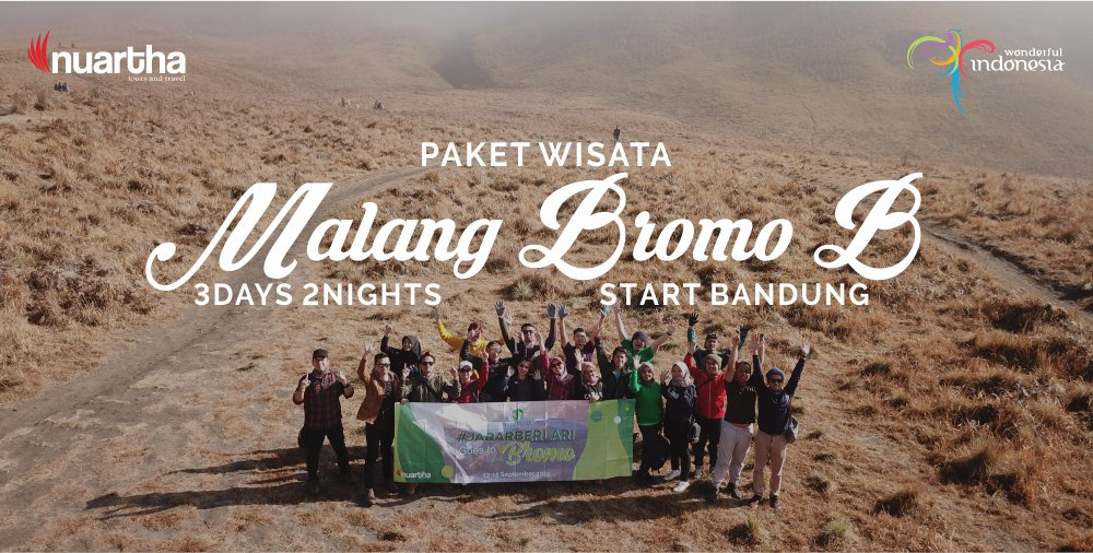 Malang Bromo 3D2N B - Nuartha Tours and Travel - PT Moda Kreasindo goes to Dieng (13-15 September 2019) - Nuartha Tours and Travel