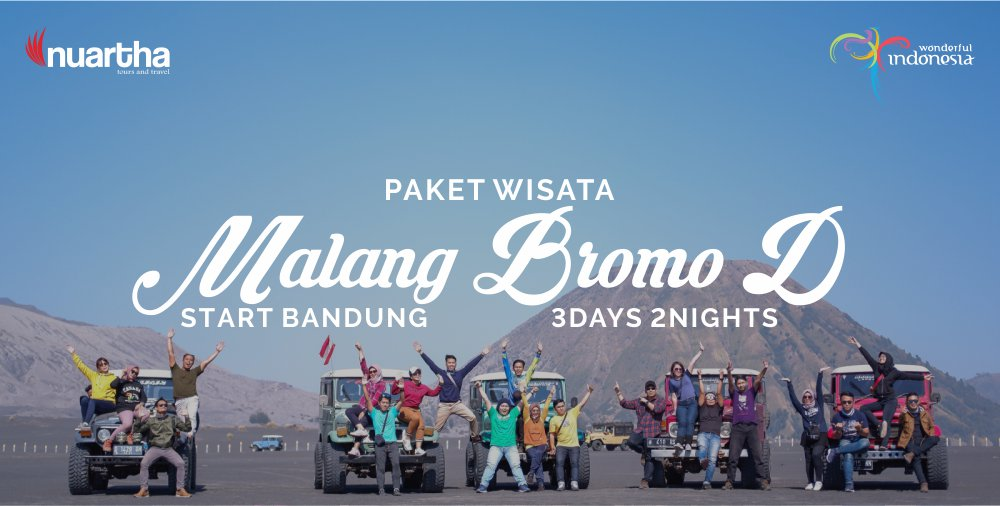 Malang Bromo 3D2N D - Nuartha Tours and Travel - PT Moda Kreasindo goes to Dieng (13-15 September 2019) - Nuartha Tours and Travel