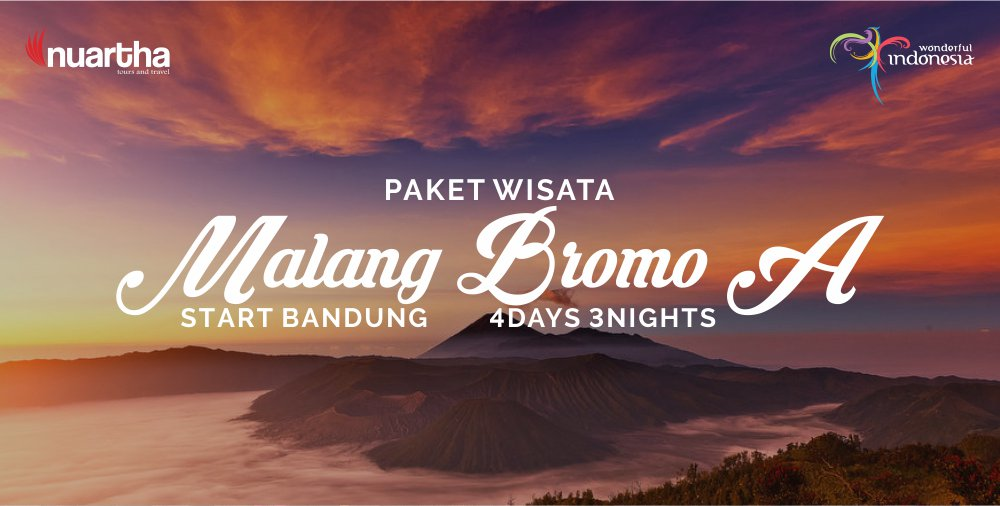 Malang Bromo 4D3N A - Nuartha Tours and Travel - PT Moda Kreasindo goes to Dieng (13-15 September 2019) - Nuartha Tours and Travel