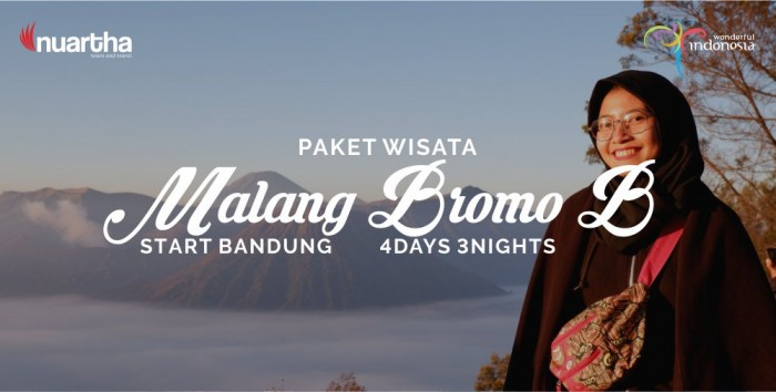 Malang Bromo 4D3N B - Nuartha Tours and Travel - PT Moda Kreasindo goes to Dieng (13-15 September 2019) - Nuartha Tours and Travel