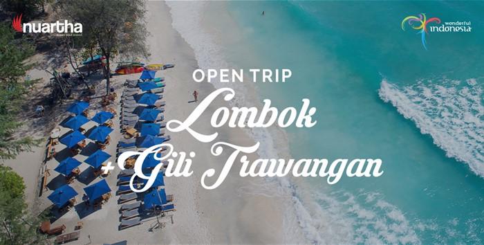 Open Trip Lombok + Gili Trawangan