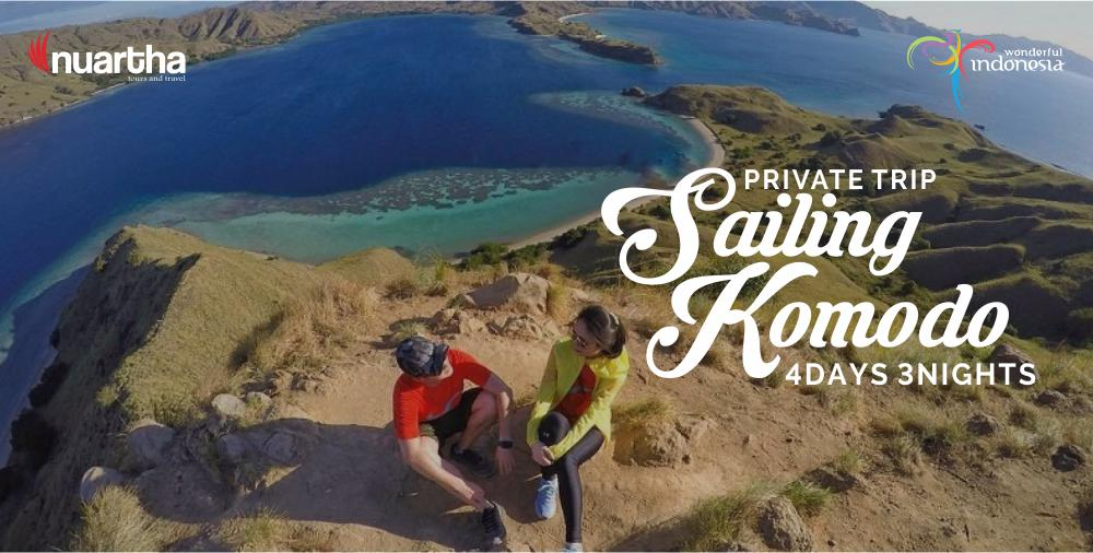 Private Trip Sailing Komodo 4D3N
