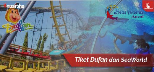 Agen Tiket Promo Dufan Seaworld Di Bandung Nuartha Tours