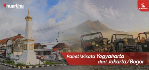 Yogyakarta dari Jakarta - Bogor