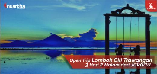 20. Open Trip Lombok Gili Trawangan dari Jakarta