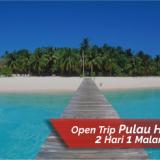 21. Open Trip Pulau Harapan dari Kaliadem