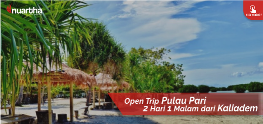 23. Open Trip Pulau Pari dari Kaliadem