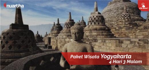 4. Paket Wisata Yogyakarta 4 Hari 3 Malam