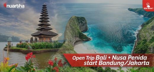 Open Trip Bali- Nusa Penida start Bandung atau Jakarta