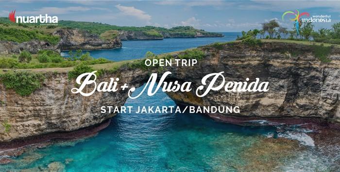 Open Trip Bali+Nusa Penida Start Jakarta or Bandung