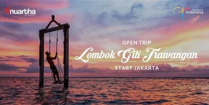 Open Trip Lombok Gili Trawangan Start Jakarta