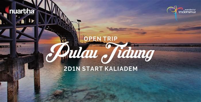Open Trip Pulau Tidung 2D1N Start Kaliadem