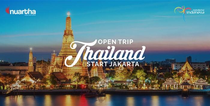 Open Trip Thailand Start Jakarta
