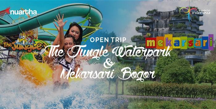 Open Trip The Jungle Waterpark & Mekarsari Bogor